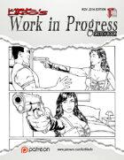 Kirk Lindo's Work In Progress Sketch Book 01