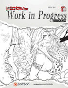 Kirk Lindo's Work In Progress Sketch Book 03
