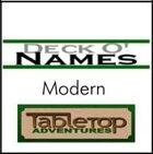 Deck O' Names - Modern