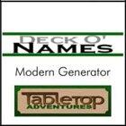 Deck O' Names - Modern Generator