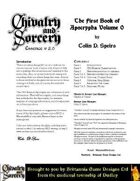 Chivalry and Sorcery Essence - Apocrypha 0