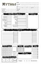 Mythos: Character Sheet (EGS)
