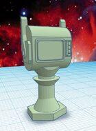 Alien Dollhouse: Martian TV (STL Model)