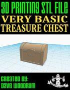 Very Basic Treasure Chest (3d Print File)