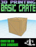 Basic Crate (3d Print File)