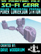 Power Conversion Station (3D Printing)
