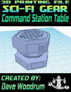 Command Station Table (3D Printing)