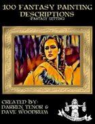 100 Fantasy Painting Descriptions