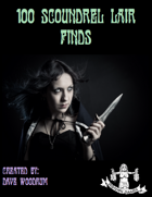 100 Scoundrel Lair Finds (Fantasy List)