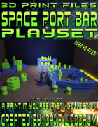 Spaceport Bar Playset (STL Files)