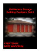 100 Modern Storage Building Contents, Set 8