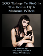 100 Things To Find In The Home Of A Modern Witch