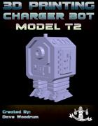Charger Bot Model T2 (3D Print: STL)