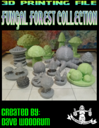 Fungal Forest Collection (STL File Assortment)