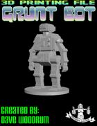 Grunt Bot (3D Print: STL)