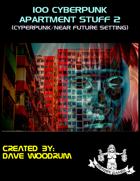 100 Cyberpunk Apartment Stuff 2