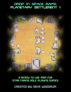 Drop In Space Maps: Planetary Settlement Map 1
