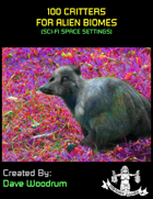 100 Critters for Alien Biomes