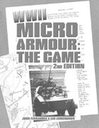 Micro Armour: The Game-WWII, 2nd Edition (Black/White)