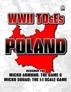 WWII TO&Es - Poland