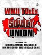 WWII TO&Es - Soviet Union
