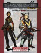Fantaji Universal RPG: Quickstart