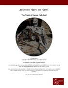 The Tomb of Harven Half-Skull