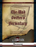 The Mad Doctor's Formulary (Portrait)