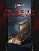 Gothic Grimoires: The Necrotic Verses 5E