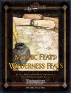 Mythic Feats: Wilderness Feats