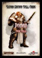 Second Edition Spell Cards: Domain Spells