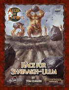 Aegis of Empires 5: Race for Shataakh-Ulm (Pathfinder Second Edition)