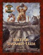 Aegis of Empires 5: Race for Shataakh-Ulm (PFRPG)