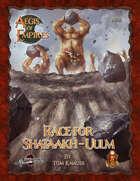 Aegis of Empires 5: Race for Shataakh-Ulm (5E)