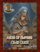 Aegis of Empires GM's Guide