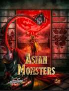Asian Monsters Preview PDF (5E)