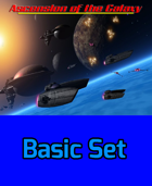 Ascension of the Galaxy- Spaceship Combat - BASIC SET