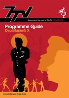7TV Programme Guide: Department X
