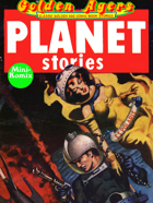 Golden Agers: Planet Stories