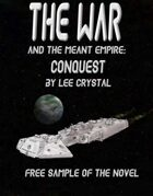The War and the Meant Empire: Conquest Free Novel Sample