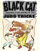 Black Cat Shows You How To Do Judo Tricks