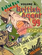 Film Fun Comics Vol. 3: British Agent 99