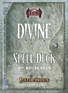 Pathfinder 2 - Divine Tradition Spell Deck II [4th - 10th]