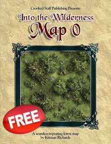 Into the Wilderness: Map 0