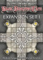 Basic Dungeon Tiles : Expansion Set 1