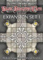 Basic Dungeon Tiles : Expansion Set 1