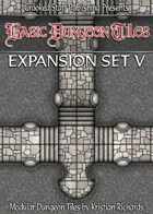 Basic Dungeon Tiles : Expansion Set 5