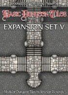 Basic Dungeon Tiles : Expansion Set 5