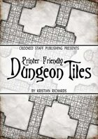 Printer Friendly Dungeon Tiles