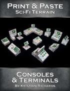 Print & Paste Sci-Fi Terrain : Consoles & Terminals